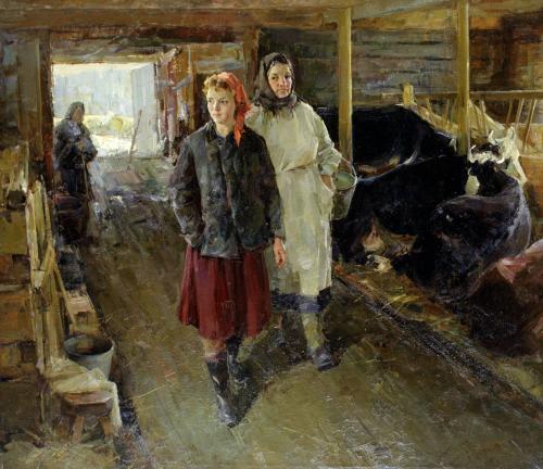 Советская реалистическая живопись - 2.