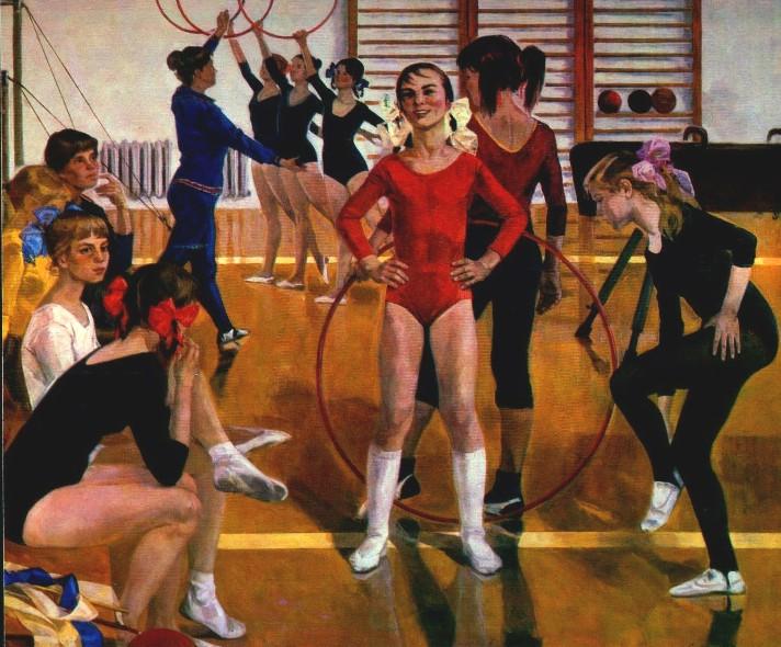 Сайкина детскаяспортивная школа 1979